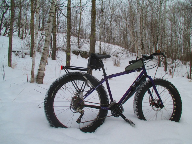 Snowbiking in fresh show 011