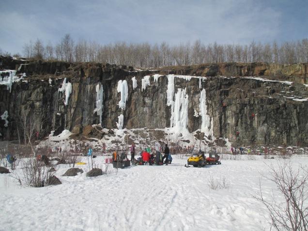 Quarry Park ice climbers 003