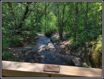 Crossing Coffee Creek.