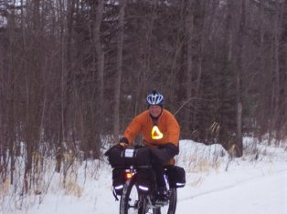 My bikepacking set-up circa 2008.